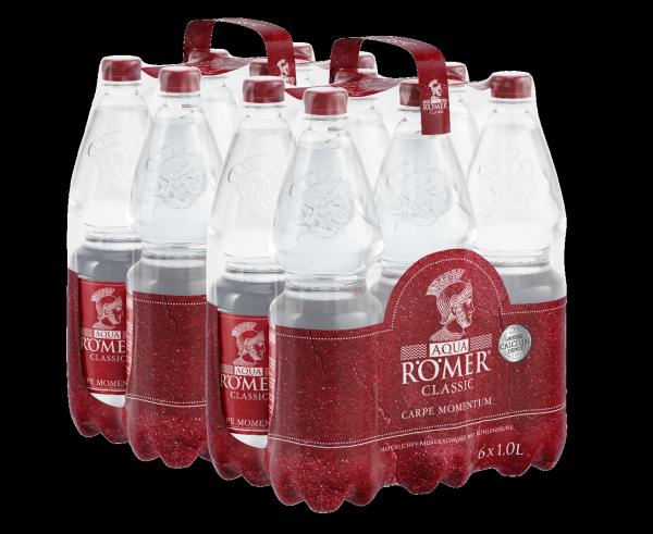 AQUA RÖMER Mineralwasser Classic EINWEG