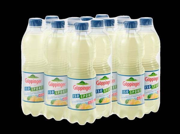 Göppinger ISO-Sport Zitrone-Grapefruit EINWEG