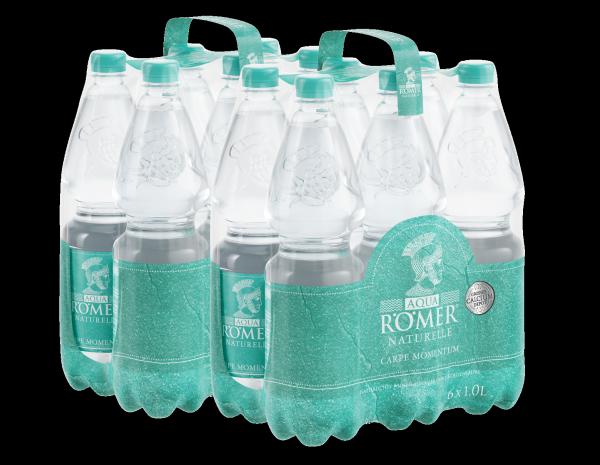 AQUA RÖMER Mineralwasser Naturelle EINWEG