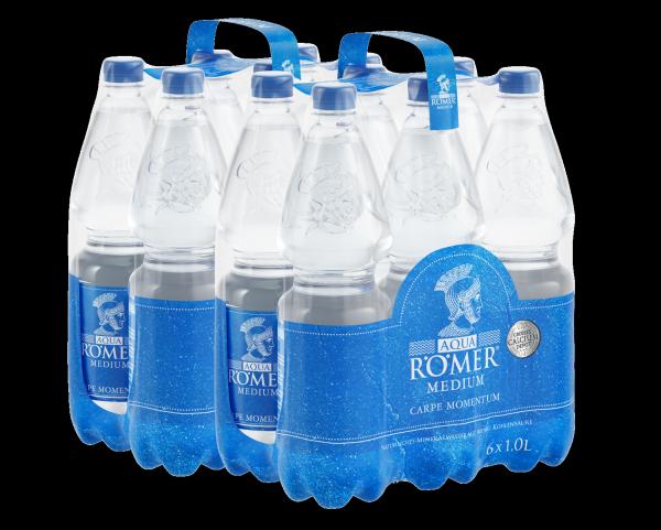 AQUA RÖMER Mineralwasser Medium